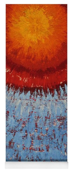 Outburst Original Painting Yoga Mat