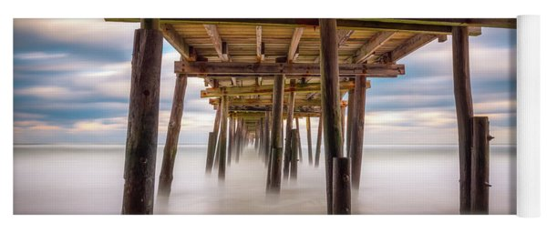 Outer Banks Nc Seascape Nags Head North Carolina Yoga Mat
