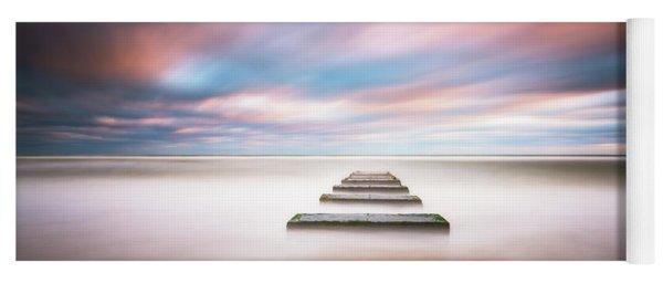 Outer Banks North Carolina Seascape Nags Head Nc Yoga Mat
