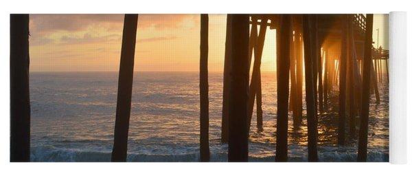 Outer Banks Pier 7/6/18 Yoga Mat