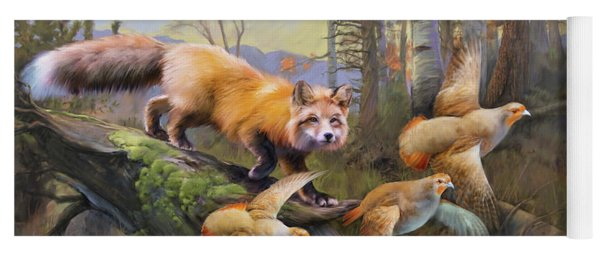 Outfoxed Yoga Mat