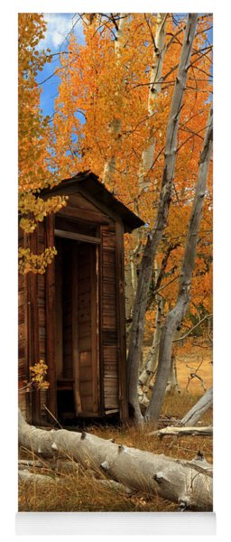 Outhouse In The Aspens Yoga Mat