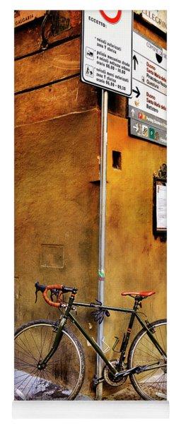 O'val Bicycle Yoga Mat