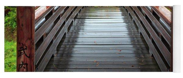 Over The Bridge To Fall Yoga Mat