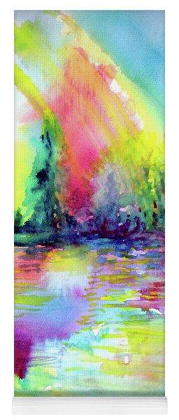 Over The Rainbow Yoga Mat