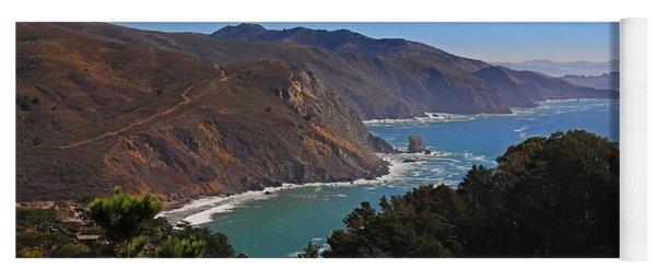 Overlooking Marin Headlands Yoga Mat