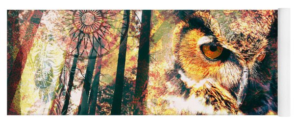 Owl Medicine 2015 Yoga Mat