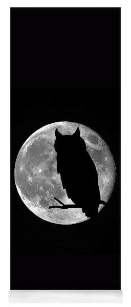 Owl Moon Yoga Mat