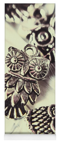 Owl Pendants. Charms Of Wisdom Yoga Mat