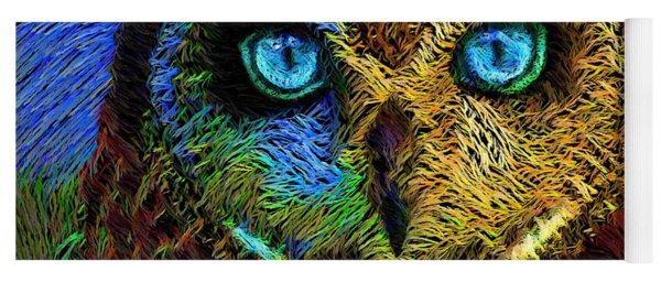 Owl Yoga Mat
