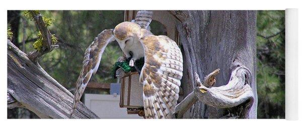Owl Takeoff Yoga Mat