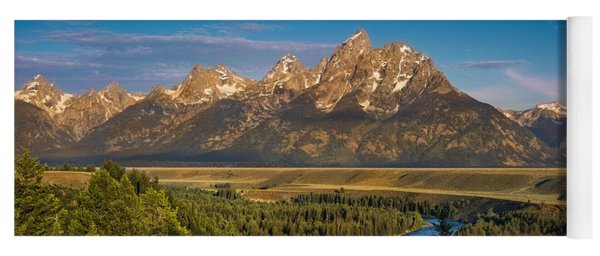 Oxbow Bend Grand Tetons Yoga Mat