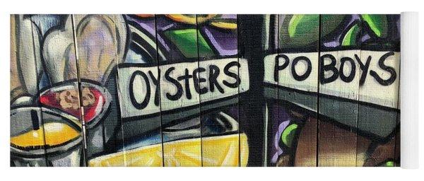 Oyster Poboys Yoga Mat