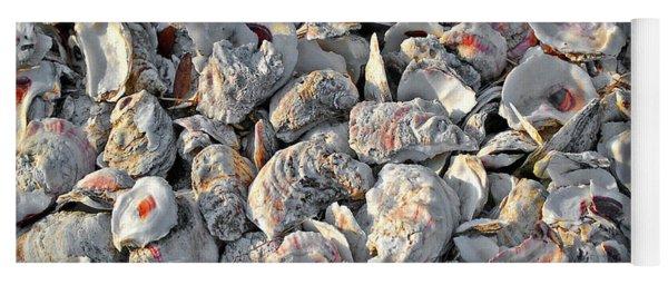 Oysters Shells Yoga Mat