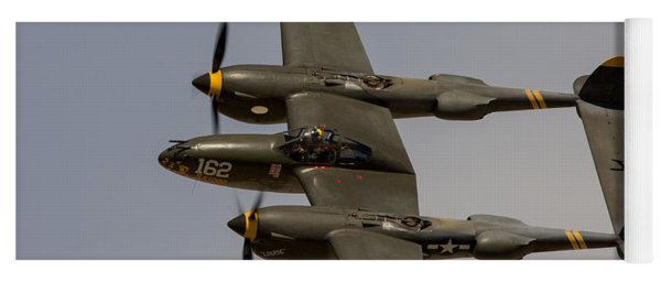 P-38 Skidoo Yoga Mat