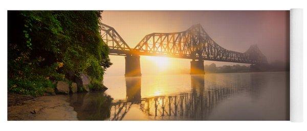 Railroad Bridge Yoga Mat