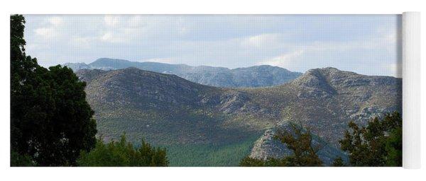 Paarl Landscape Number One Yoga Mat