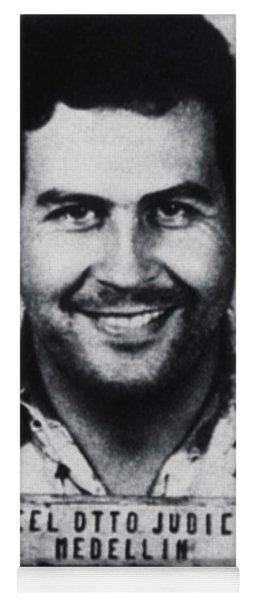 Pablo Escobar Mug Shot 1991 Vertical Yoga Mat