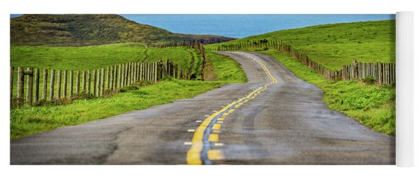 Pacific Coast Road To Tomales Bay Yoga Mat