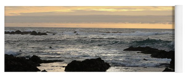 Yoga Mat featuring the photograph Pacific Grove Sunset by Eyes4Nature