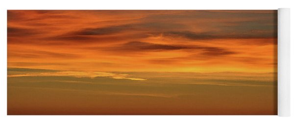Pacific Ocean Sunset Yoga Mat