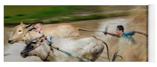 Pacu Jawi Bull Race Festival Yoga Mat