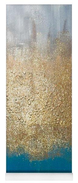 Paint The Sky Gold Yoga Mat