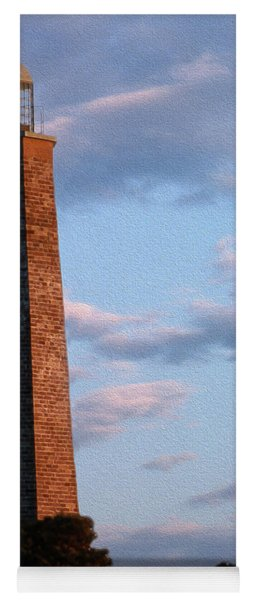 Painted Cape Henry Lighthouses Yoga Mat