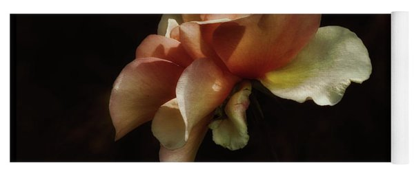 Painted Roses Yoga Mat