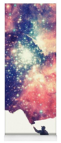 Painting The Universe Awsome Space Art Design Yoga Mat