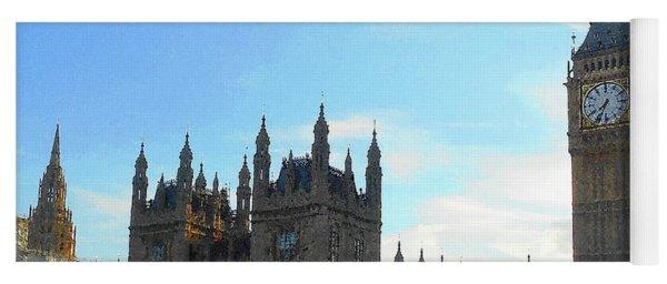 Palace Of Westminster And Big Ben Yoga Mat