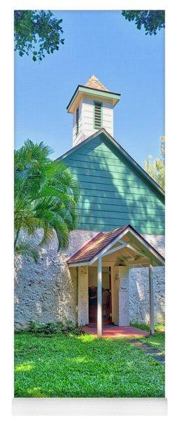 Palapala Ho'omau Congregational Church Yoga Mat