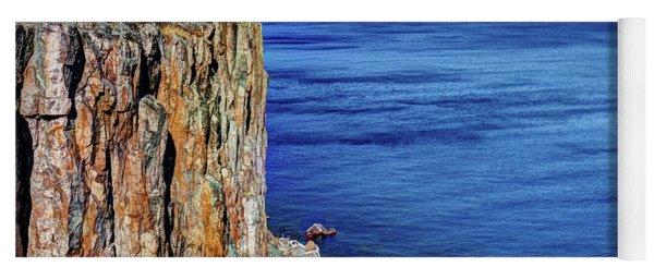 Palisade Head Tettegouche State Park North Shore Lake Superior Mn Yoga Mat