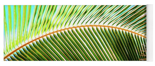 Palm Frond Sway Yoga Mat