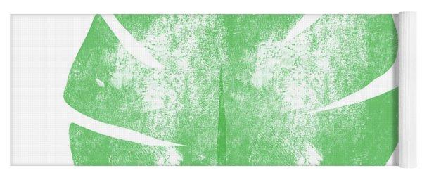 Palm Leaf- Art By Linda Woods Yoga Mat