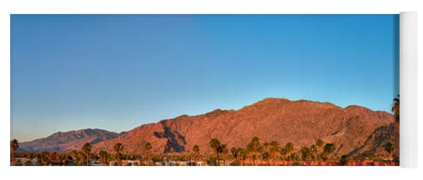 Palm Springs Sunrise Yoga Mat