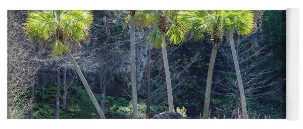 Palm Tree Island Yoga Mat
