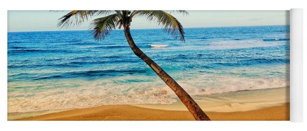 Palm Tree  Yoga Mat