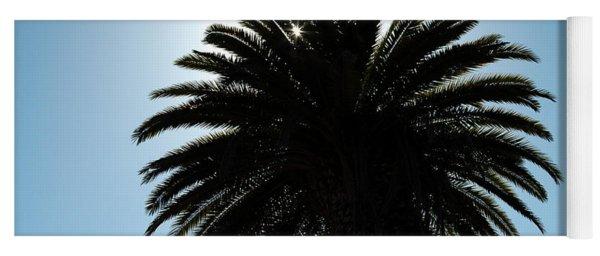 Palm Tree Silhouette Yoga Mat