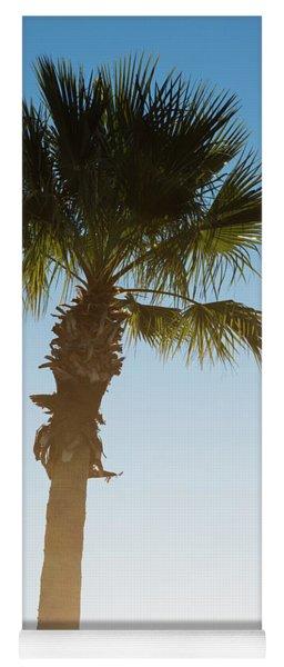 Palm Tree Sunrise Yoga Mat
