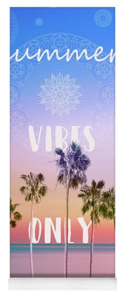 Palm Trees Summer Vibes Yoga Mat
