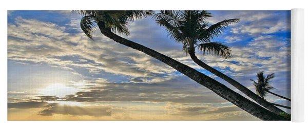 Palms Of Kaanapali Yoga Mat