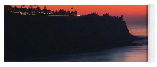 Palos Verdes Coast After Sunset Yoga Mat