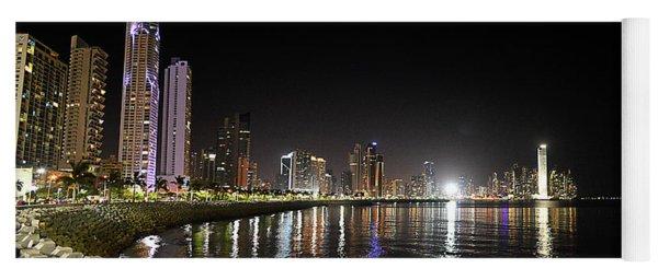 Panama City Night Yoga Mat