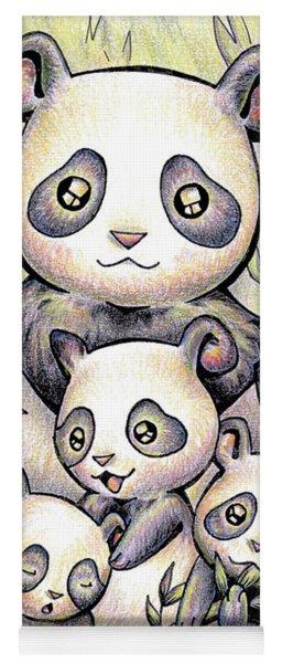 Endangered Animal Giant Panda Yoga Mat