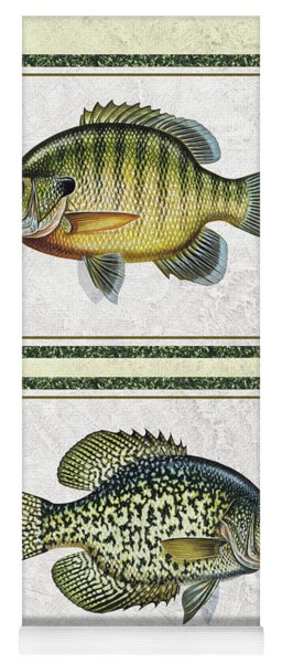 Panfish Id Yoga Mat