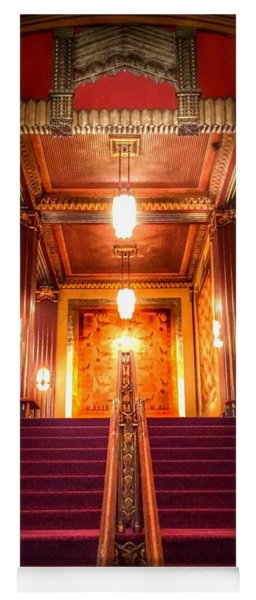 Pantages Theater's Grand Staircase Yoga Mat