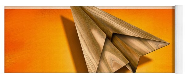 Paper Airplanes Of Wood 18 Yoga Mat