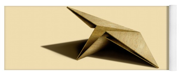 Paper Airplanes Of Wood 7 Yoga Mat