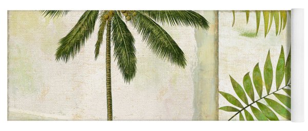 Paradise II Palm Tree Yoga Mat